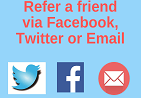 Refer a friend social