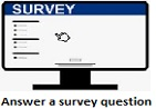 Survey question