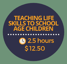 Teaching Life Skills to School Age Children